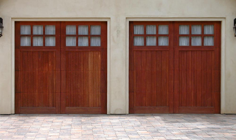 Cedarcrest with Monterey top garage door picture & Model T doorsu2014Garage Doors Inc. Custom Wood Garage Doors pezcame.com