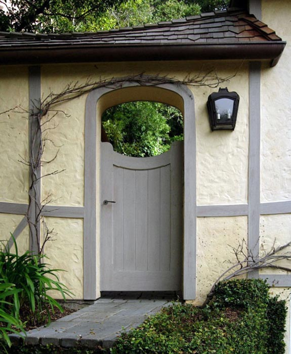 Courtyard Gate door picture & Garden Gates \u2014 Garage Doors Inc. Custom Wood Garage Doors
