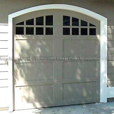 Chateau garage door picture & Model A doorsu2014Garage Doors Inc. Custom Wood Garage Doors pezcame.com