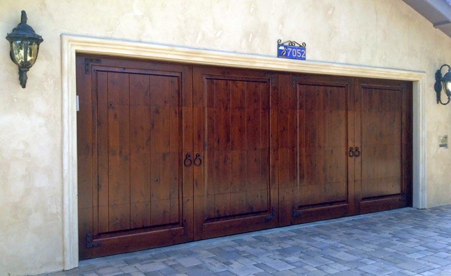 Model T Doors Garage Inc Custom Wood