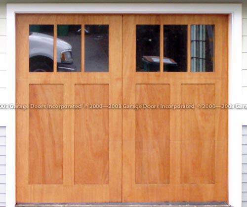 Santo Tome stain grade garage door picture & Plantation Series doorsu2014Garage Doors Inc. Custom Wood Garage Doors pezcame.com
